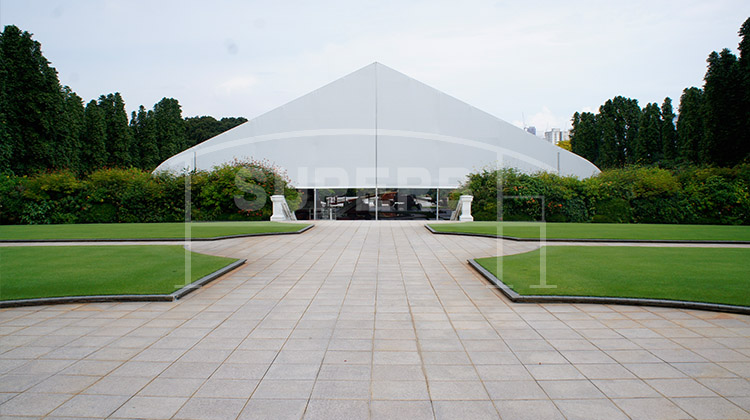 large wedding tent canopy