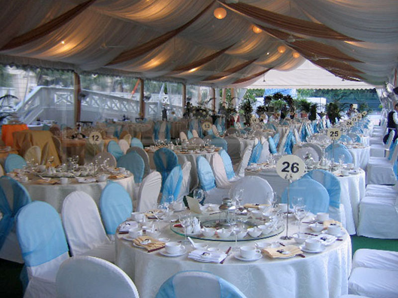 Big White Event Tents