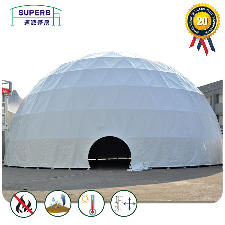 Outdoor Geodesic Dome Event Tents
