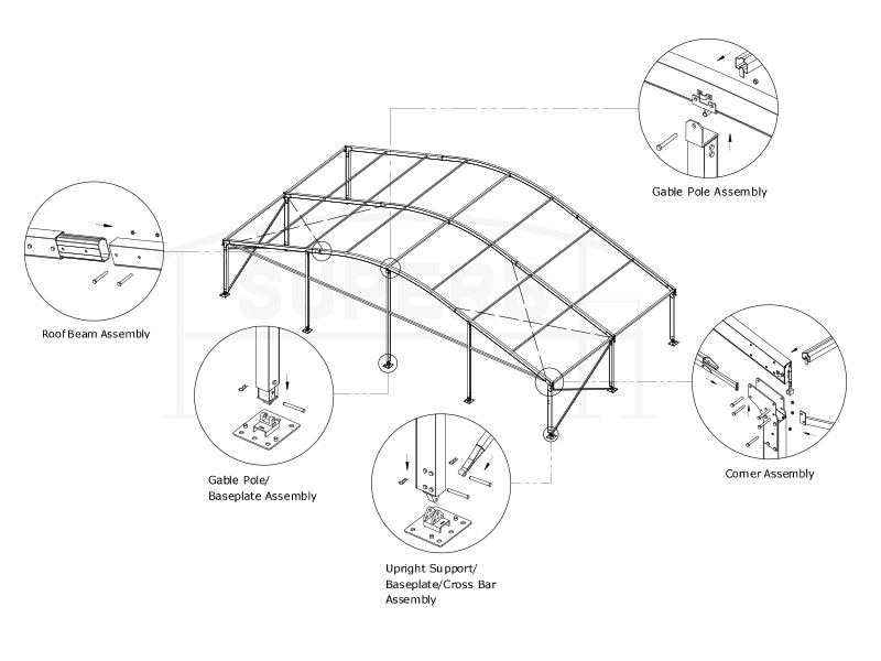 20x20 tents for sale