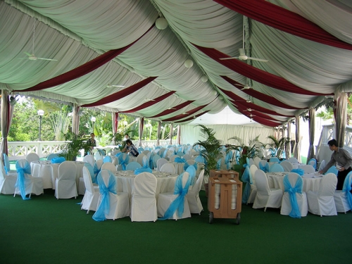 Wedding Tents in South Africa with All Decorations