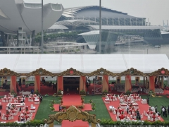 Outdoor White Event Tents For Sale