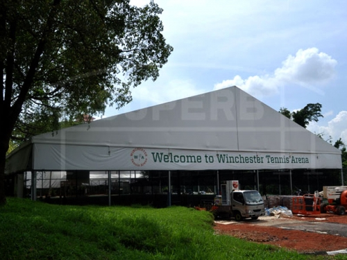 Large Custom Outdoor  White Event Tents With Different Size