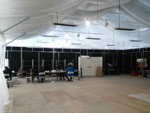 30X30M Temporary Workshop Tent