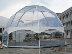 Transparent Octagon Dome Tent