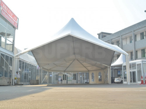 High Peak Polygon Canopy Combination Party Tent