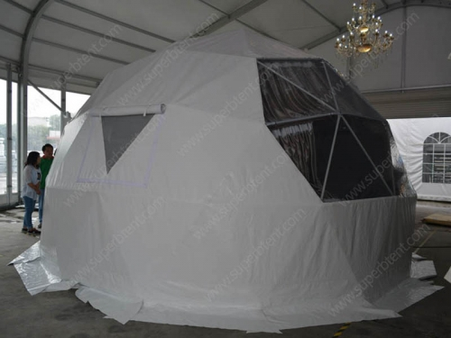 Wild Luxury Geodesic Dome Tent For Sale
