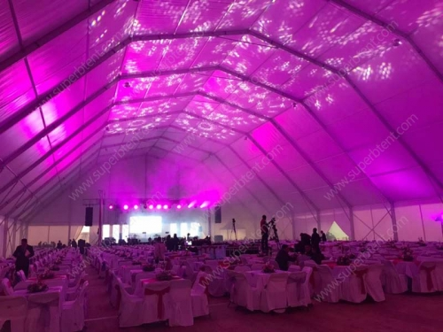 20x40 Outside Wedding Party Tent