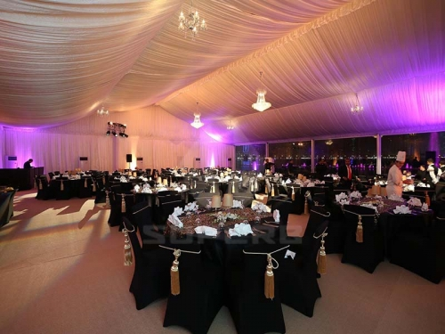 Large Clear Span Wedding Tents With All Decorations