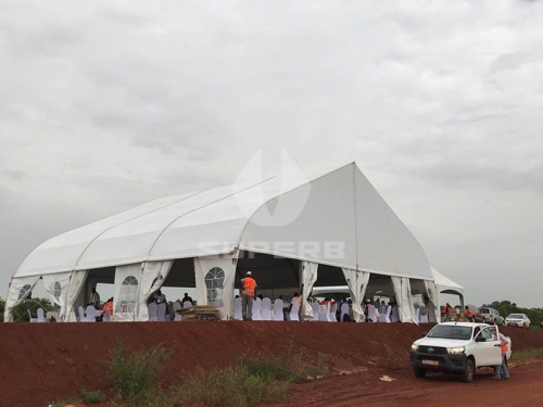 30x30 reception catering tent for wedding
