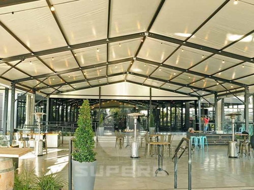 Large Outdoor Dining Shade Tent House
