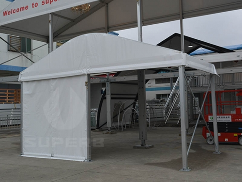 White Outdoor Banquet Tent