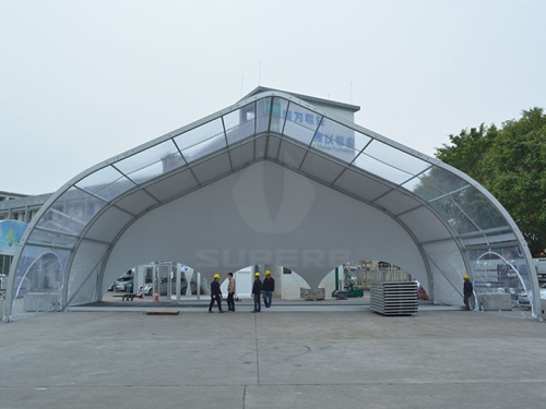 White Large Outdoor Event Tents