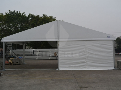 20x20 Big Party Tent With Tent Decorations For Parties