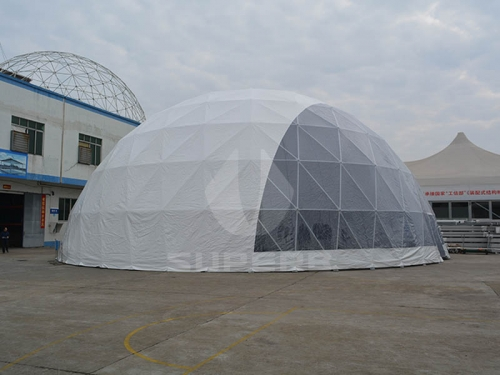 large geodesic dome camping tents