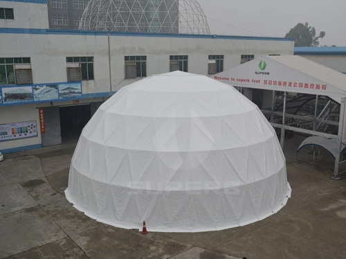 20M White Large Dome Tents For Sale
