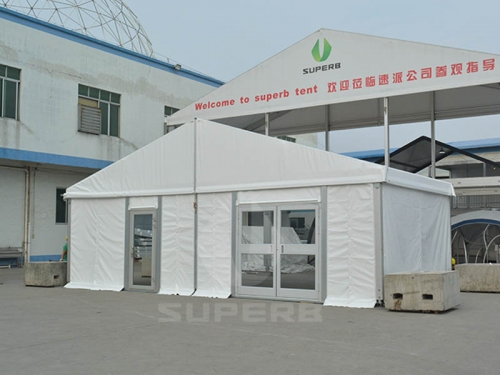 Wedding Tent Manufacturers In India Layout for 200 guests