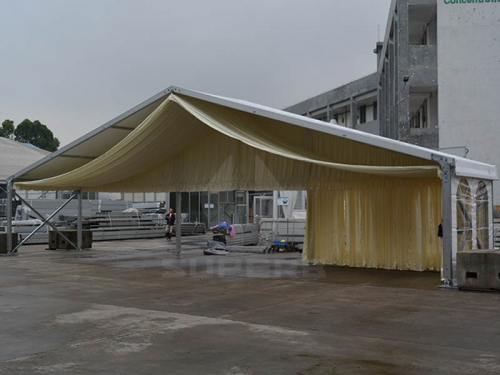 Big White Commercial Party Tent