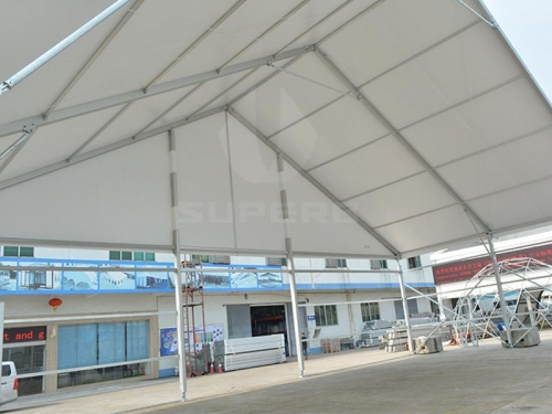 Huge White Party Tents