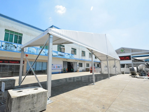 China church tent with eco prices