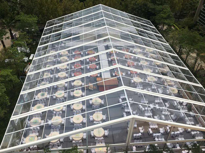 30x40m transparent tent for wedding party