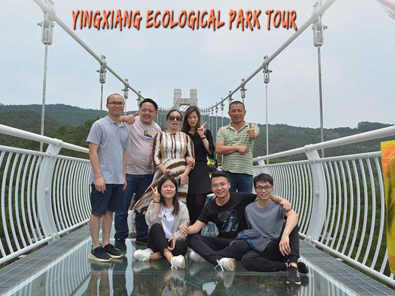 Yingxiang Ecological Park Tour for Superbtent